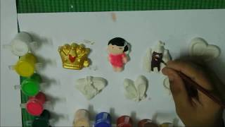 Cool Mould Paints and Fridge Magnets Making