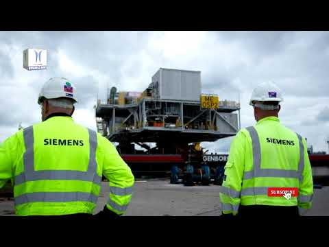 Siemens Connects 3 Offshore Transformer Modules at Moray East Offshore Windfarm Project