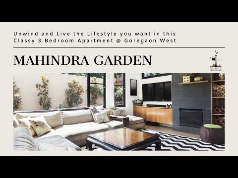 Classy N Elegant 3 Bedroom Apartment With Study For SALE @ Mahindra Garden, Goregaon West