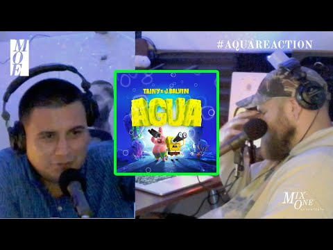 Tainy, J Balvin – Agua (Sponge On The Run Movie) Official Video REACTION!   | Mix-One Essentials