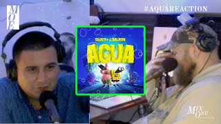 Tainy, J Balvin - Agua (Sponge On The Run Movie) Official Video REACTION!   | Mix-One Essentials