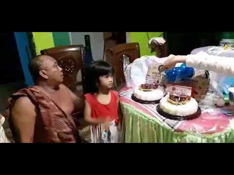 Puding ulang tahun kue ultah keluar uang money cake palembang info order kirana 081377892469
