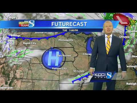 Videocast: Warm, sunny weather ahead Tuesday