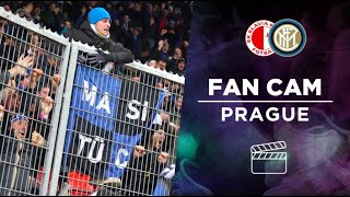SLAVIA PRAHA 1-3 INTER | INTER FANS GO WILD AS LAUTARO MARTINEZ AND ROMELU LUKAKU SCORE IN PRAGUE!