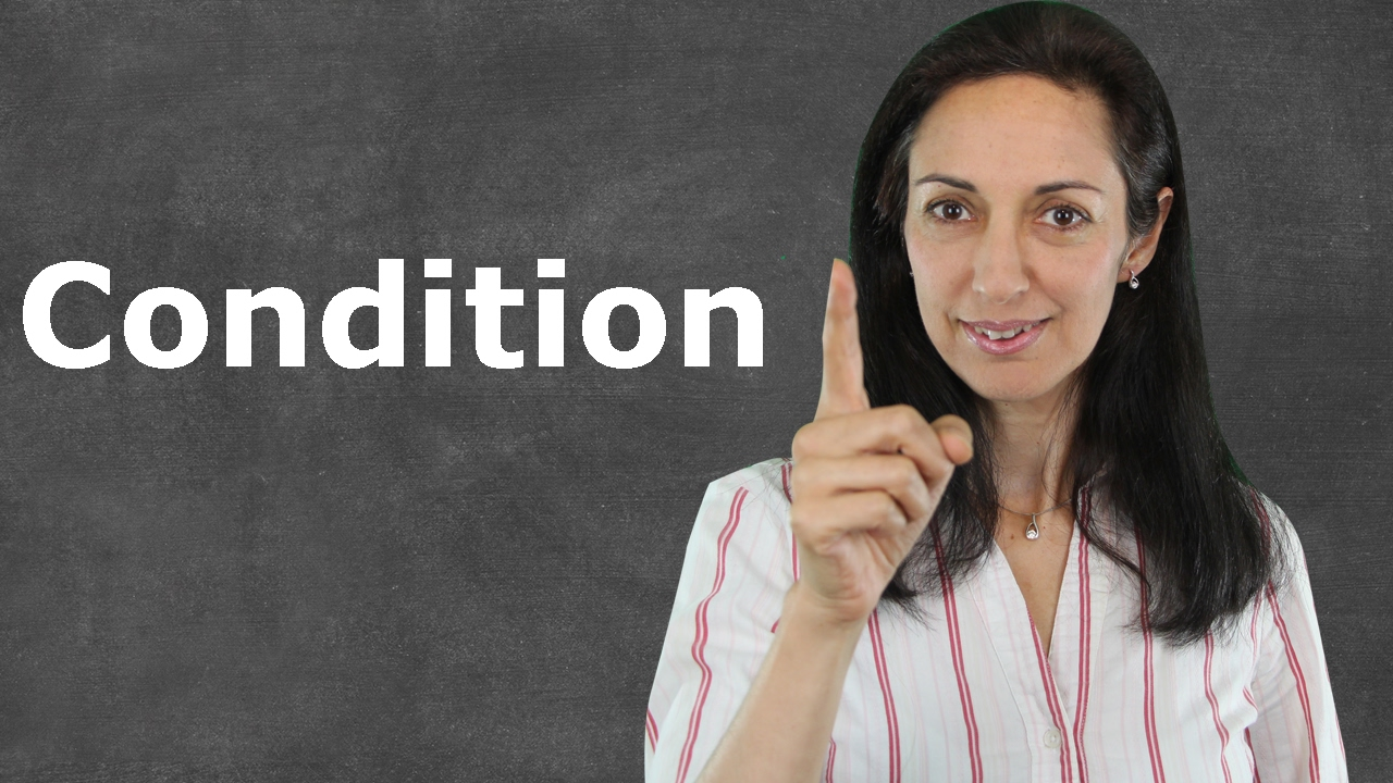Download Linking Words of Condition - English Grammar