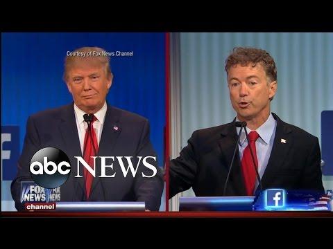 Смотреть First GOP Debate: Donald Trump, and Other Memorable Moments онлайн
