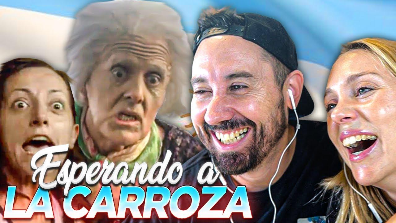 ESPAÑOLES REACCIONAN a ESPERANDO LA CARROZA *MITICO*