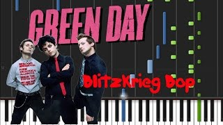 Green Day - Blitzkrieg Bop [Piano Cover Tutorial] (♫)
