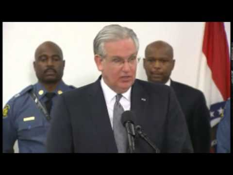 Governor Jay Nixon press conference on Ferguson Grand Jury decision