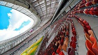 Стадион «Лужники»: как реконструировали главную спортивную арену России