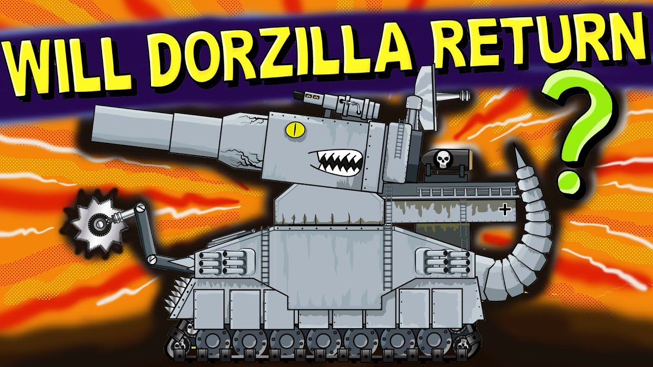 """Will Dorzilla come back?"" -  Cartoons about tanks"