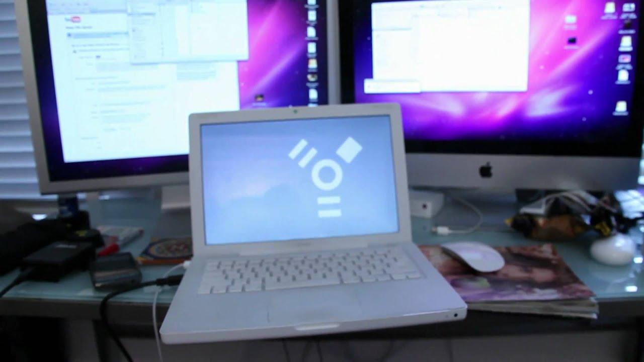 Hook up two macs via firewire