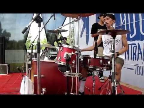 Rebellion Rose - Bermalam Bintang Drumcam By GilangSandi Live