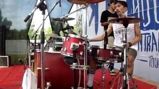 Rebellion Rose Bermalam Bintang Drumcam By GilangSandi Live