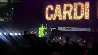 Cardi B with Lil Nas X on stage (Old Town Road)