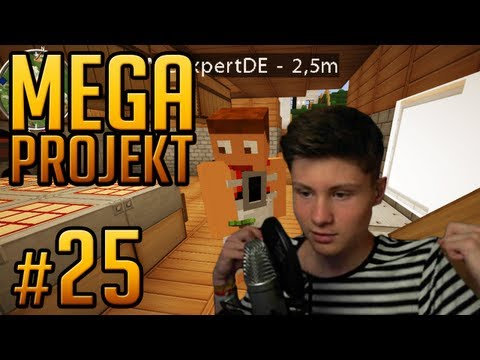 Tauschhandel Mit MCExpertDE - Minecraft Mega Projekt #25 (Dner)
