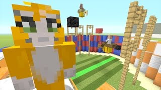 Minecraft: Xbox - Building Time - Quidditch {76}