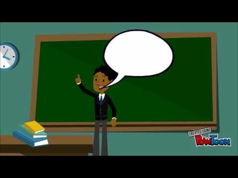 Animated teacher - YouTube