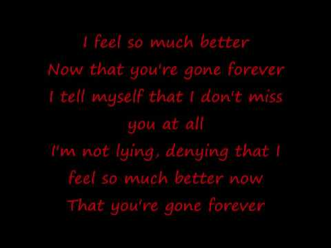 Gone Forever Lyrics from YouTube · Duration:  3 minutes 42 seconds