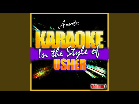 Moving Mountains (In The Style Of Usher) (Karaoke Version)