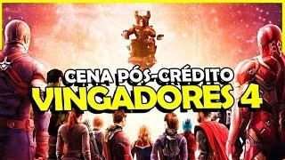 REVELADA A CENA PÓS-CRÉDITO DE VINGADORES 4?