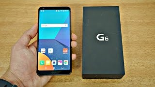 LG G6 Black 64GB - Unboxing & First Look! (4K)