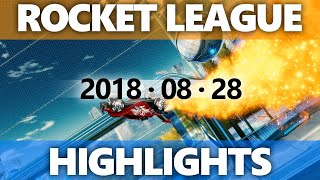 Rocket League Highlights 2018 08 28