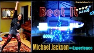 """BEAT IT"" Michael Jackson The Experience (Xbox360 Kinect) MightyMeCreative"