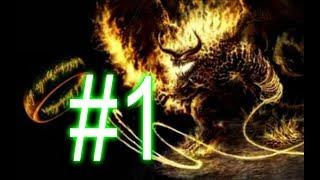 Прохождение#1 Властелин Колец война кольца!!!!!!!!!