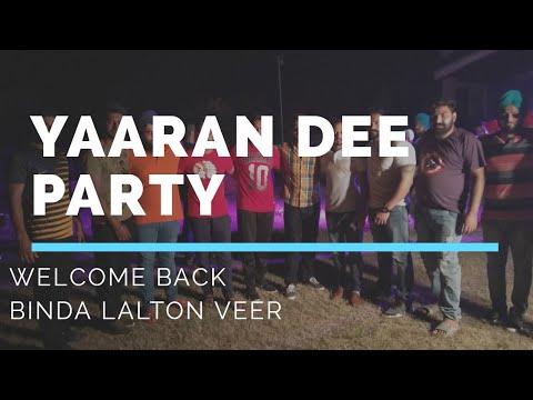 VLOG 21 Welcome Binda Lalton Feat Gippy Gill Sheebu Bal Dhillon Yaar aaya Canada ton Navv Inder