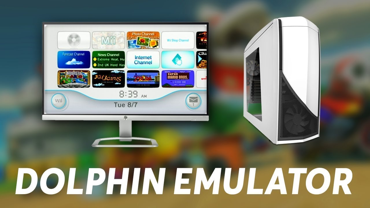 HOW TO PLAY WII GAMES AND GAMECUBE GAMES USING AN EMULATOR ON PC!!