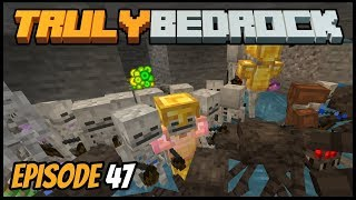 Triple Spawner XP Farm And Sorter! - Truly Bedrock (Minecraft Survival Let's Play) Episode 47