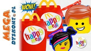 LEGO® Movie 2 🦹♂️ Happy Meal 🦇 Zabawki z McDonalda