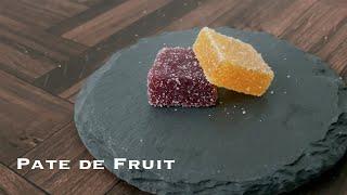 상큼한 과일 젤리, 파트 드 프뤼 | Pate de F…
