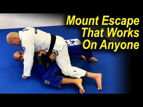 A Jiu Jitsu Mount Escape That Works Against Anyone by Xande Ribeiro