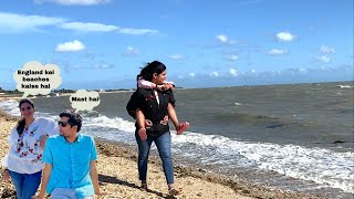 Trip to Beach after long time| Indian family vlogs from England| The Sangwan Family