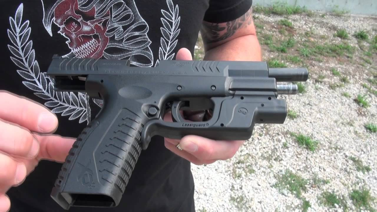 First Look: Crimson Trace Laserguard in Green