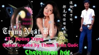 Trang nhật ký guitar karaoke by Thanh Trần Quốc ( Chelamson cover )