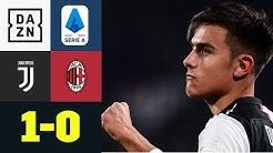 Joker Paulo Dybala sichert Juve den Sieg: Juventus - AC Mailand 1:0 | Serie A | DAZN Highlights