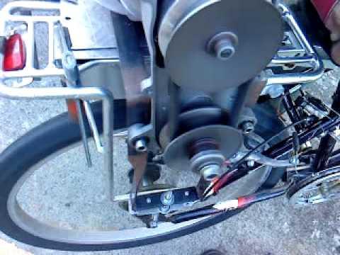 Honda Cvt Drive Bike Youtube