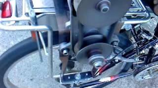 Honda CVT drive bike