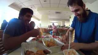 تجربة كاميرا سوني أكشن كاميرا - HD مطعم البيك