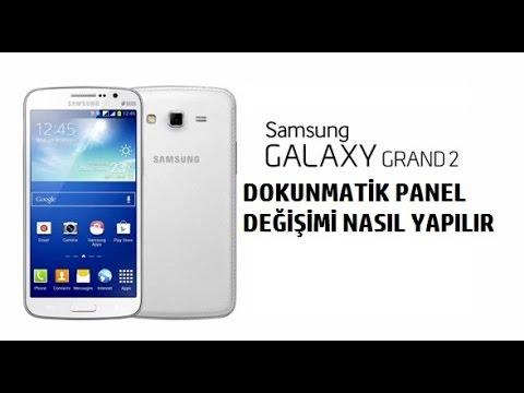 Samsung Galaxy Grand 2 Dokunmatik Panel Değişimi Nasıl Yapılır.