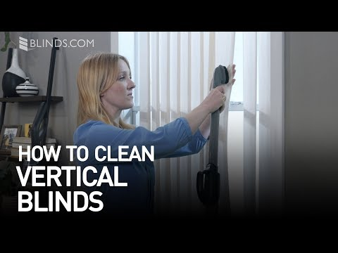 How to Clean Vertical Blinds | Blinds.com™
