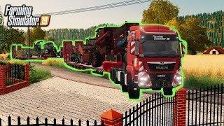 😃 Wielka Dostawa Nowych Maszyn 🦹♀️👨🏼🌾 Rolnicy z Miasta 😍 Farming Simulator 19 🚜