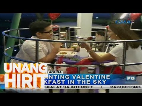 Unang Hirit: Enchanting Valentine Dinner in the Sky sa Sta. Rosa, Laguna