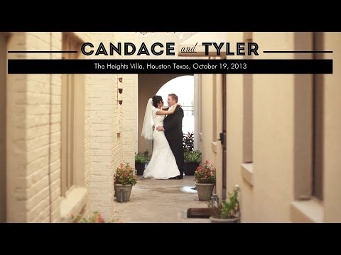 Ready For Anything // Candace and Tyler's Wedding Highlight from The Heights Villa in Houston, Texas