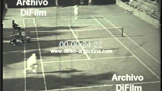 DiFilm - Canada vs Great Britain Davis Cup Tennis 1967