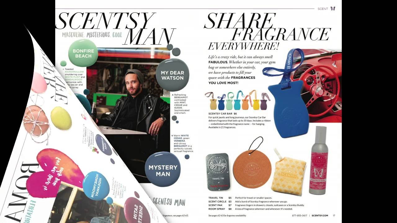 d8dc12d1d256a Scentsy Fall Winter 2016 Catalog Slideshow - YouTube
