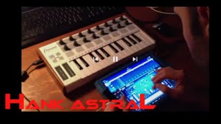 korg gadget live 1 'Silent Square' how I arrange music on an ipad in gadget